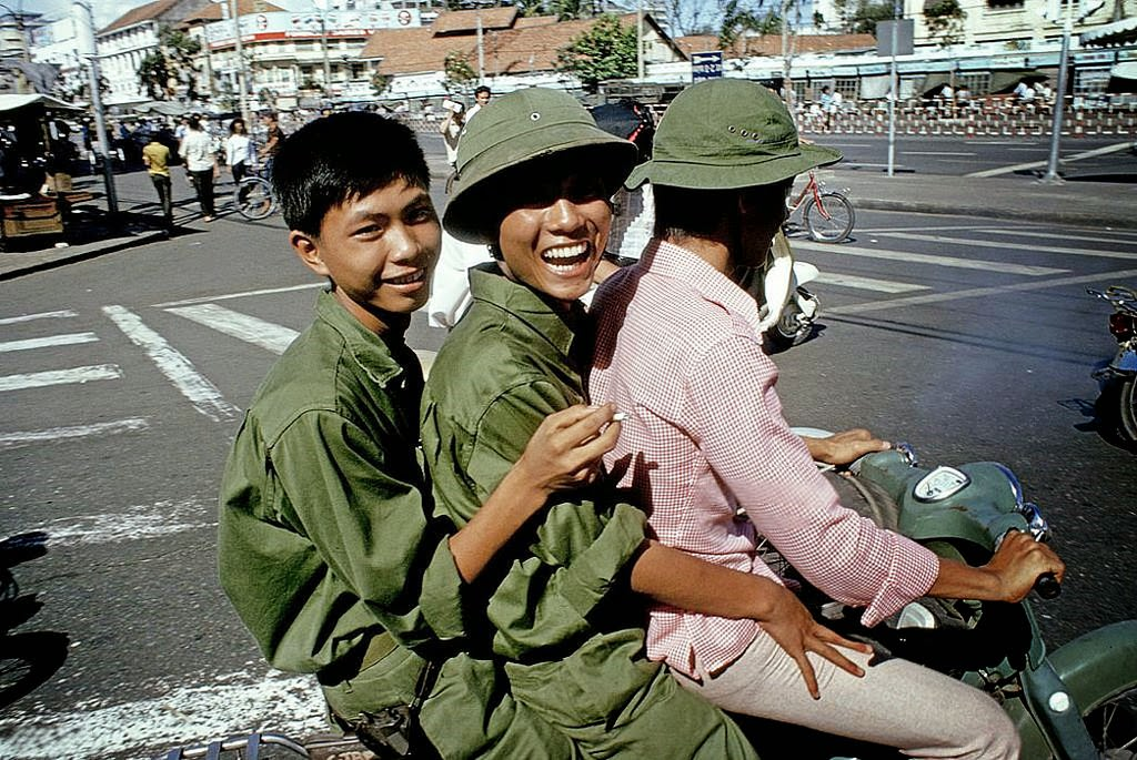 The Fall Of Saigon In Vietnam On April 30, 1975