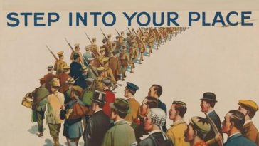 WWI recruiting posters