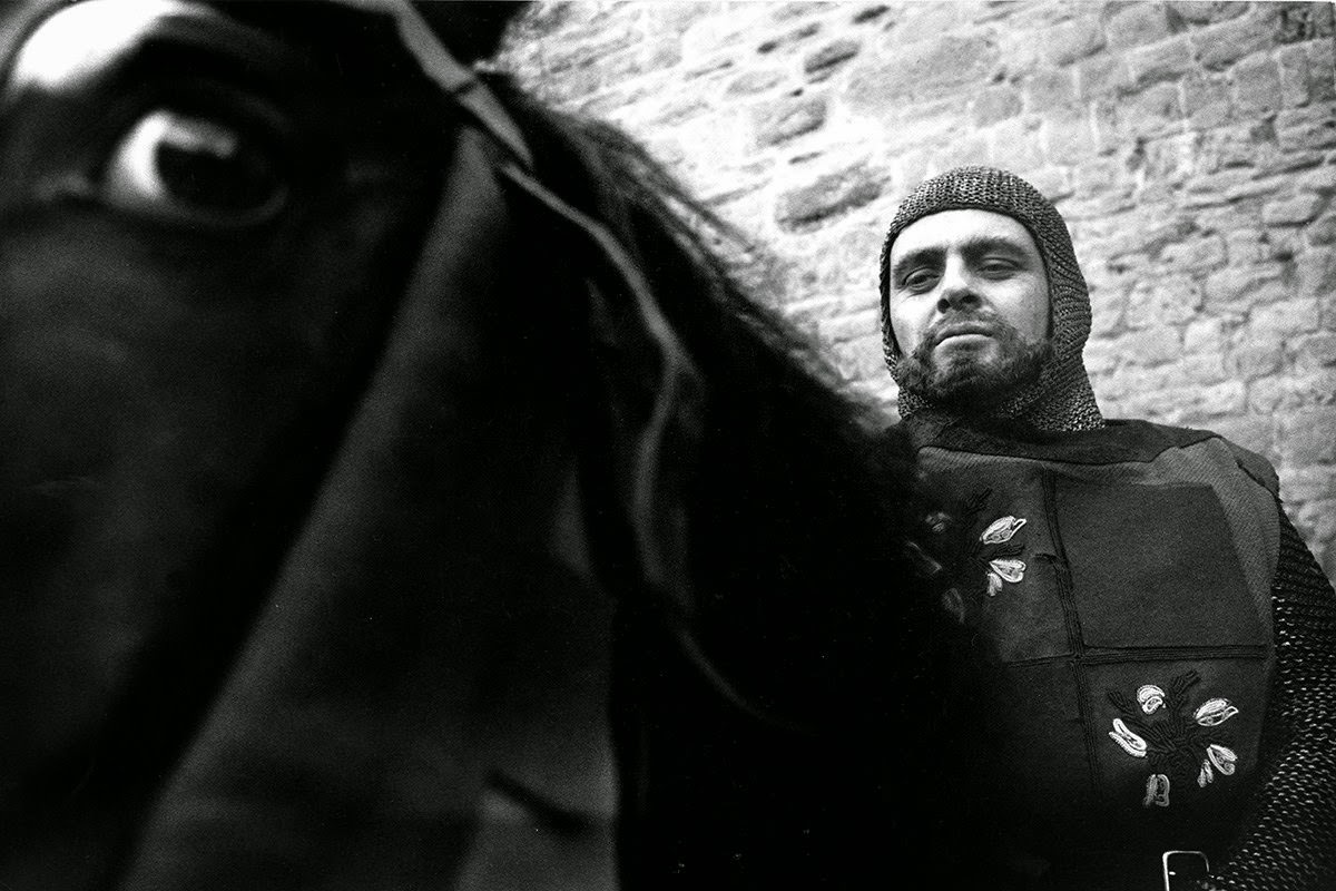 """Anthony Hopkins in his screen debut as Richard Coeur de Lion in """"The Lion in Winter,"""" 1967"""