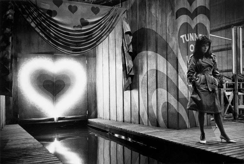 """Elaine May on the Columbia Studios set of """"Luv,"""" 1966"""