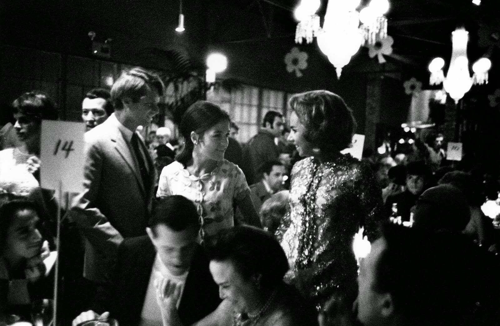 Robert and Ethel Kennedy at The Factory in L.A. charity bash, 1967