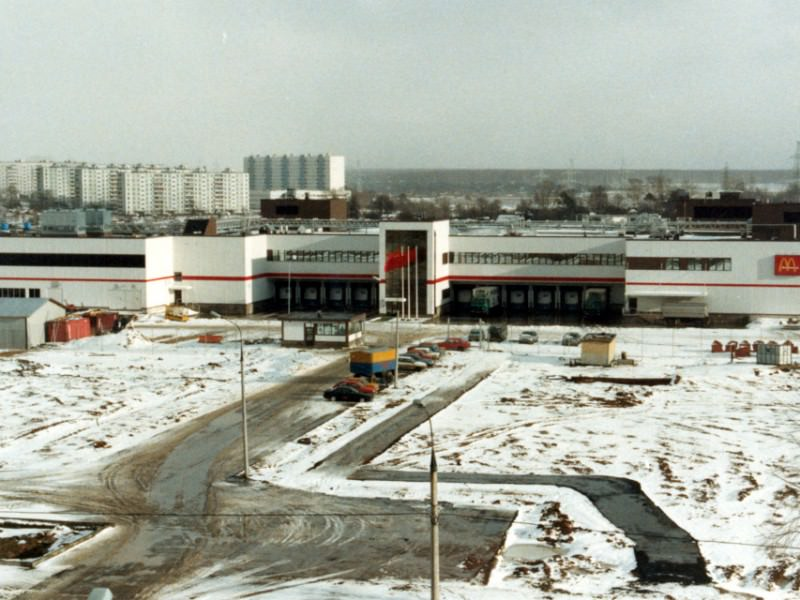 At first, before opening the restaurant, McDonalds started building a factory to produce the buns and other ingredients.