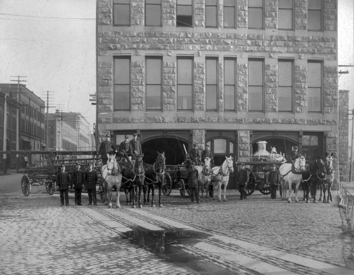 Fire Station No. 2, 1890s.