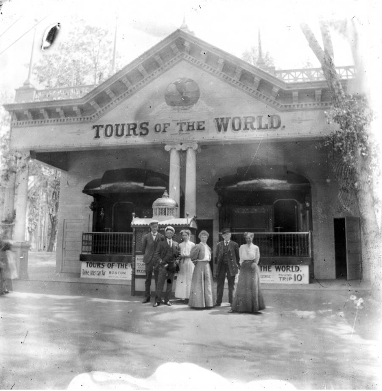 Tours of the World, 1899.