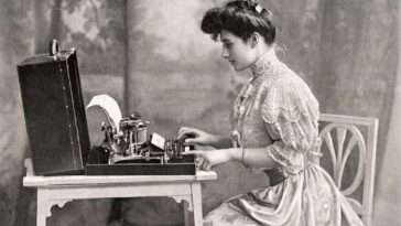 Typewriters from the past