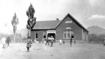 Historical Photos of The Schools of Salt Lake City from the Early 20th Century