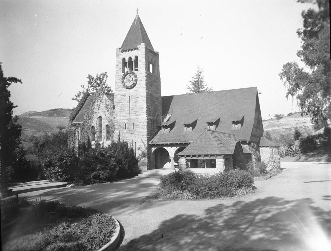 The Church of the Angels, 1100 North Avenue 64, Highland Park (or Garvanza?), Los Angeles, ca.1895-1899