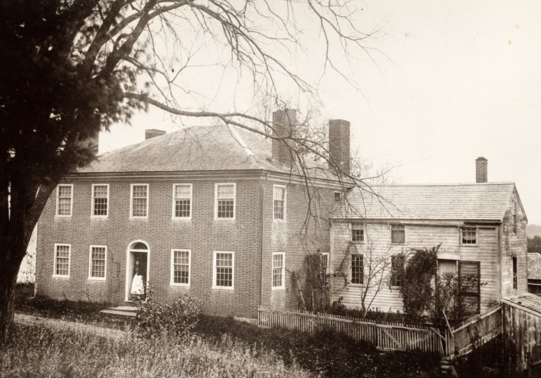 Lancaster, Massachusetts--birthplace of Luther Burbank 1870