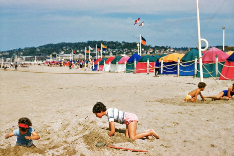 Deauville, France, 1958