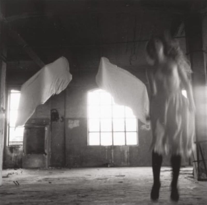 From Angel Series, Rome, 1977