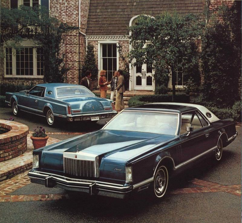 1979 Lincoln Continental Mark V Luxury Group Option