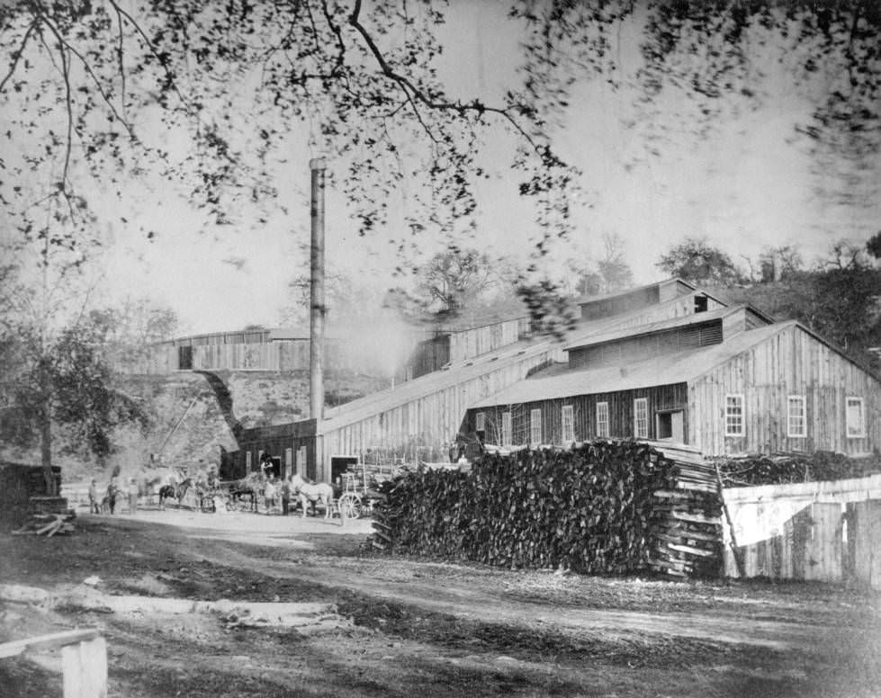 King, Meyer & Company Paper Mill, 1870.