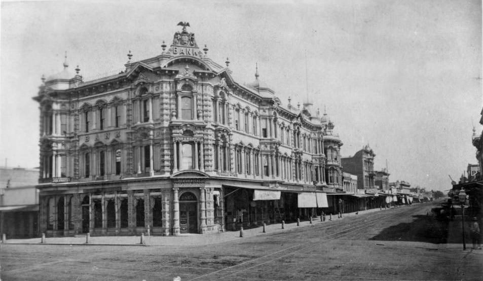 Commercial and Savings Bank, 1878.