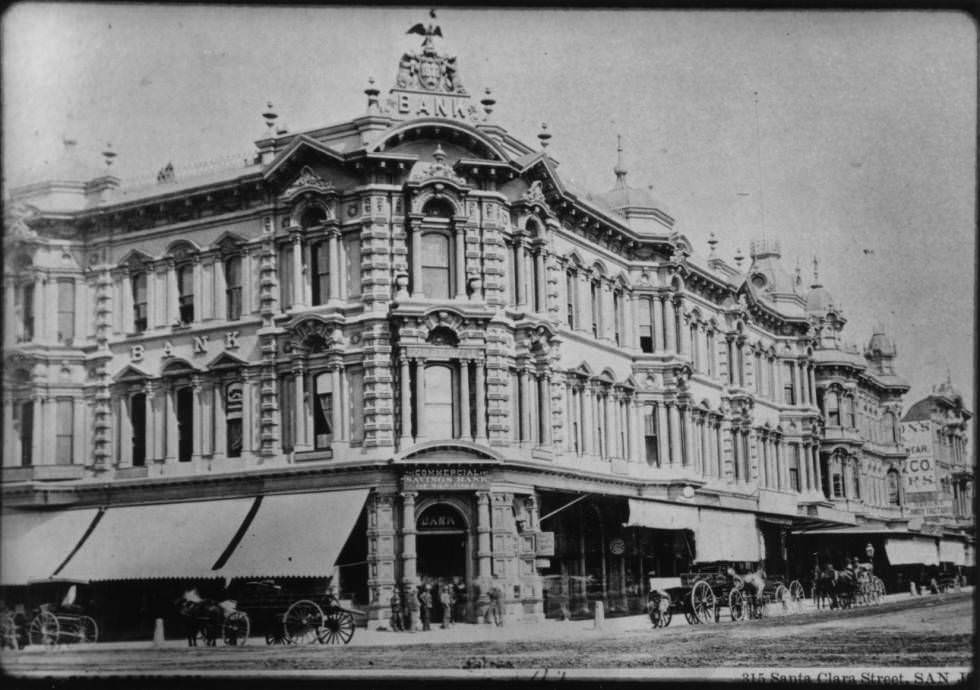 Commercial and Savings Bank, 1885.