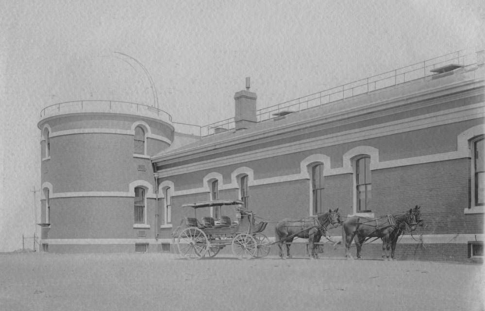 Mount Hamilton stage at Lick Observatory, 1890.