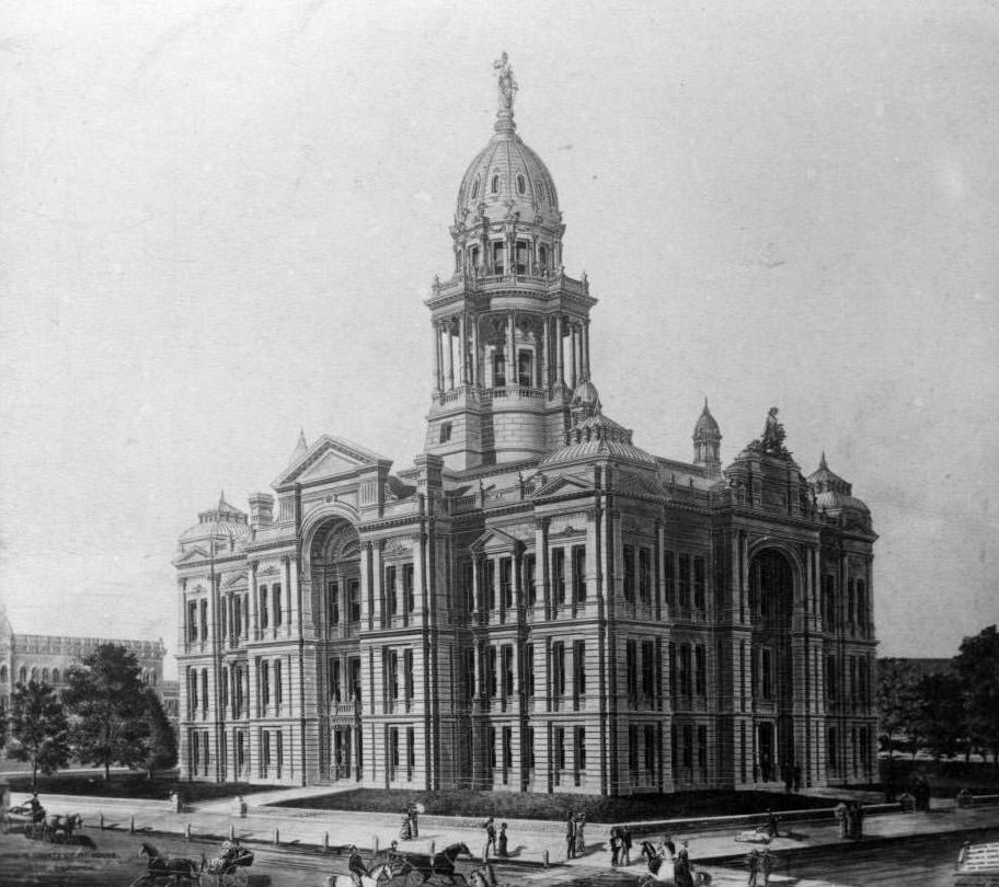 San Joaquin County Courthouse, 1890s.