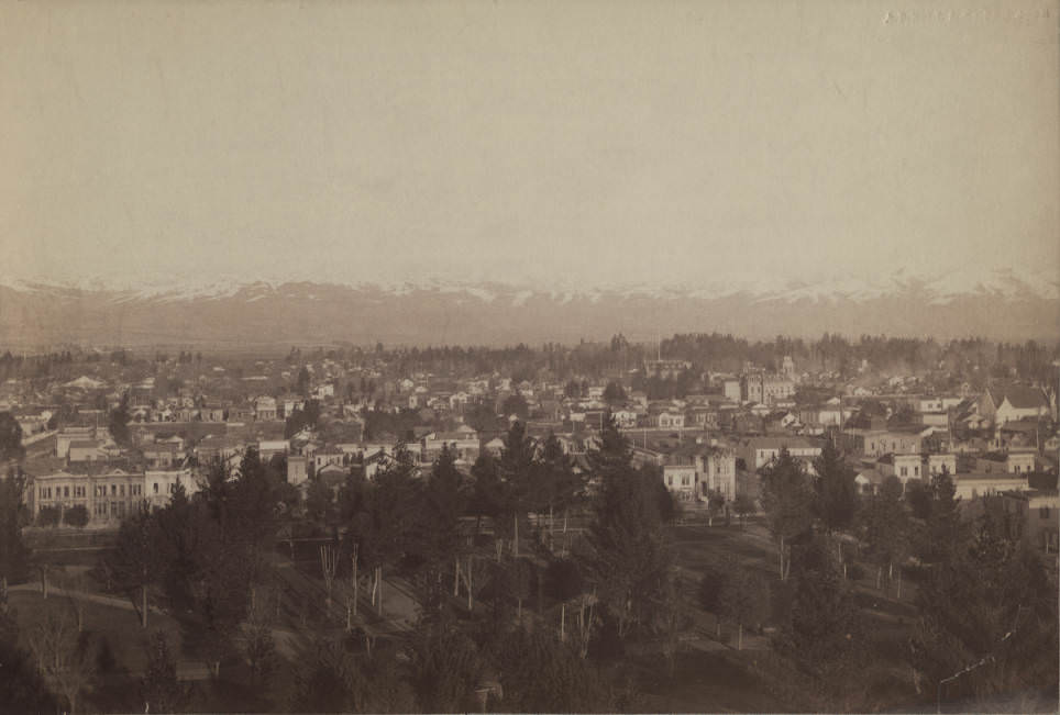 San Jose during the winter of 1880