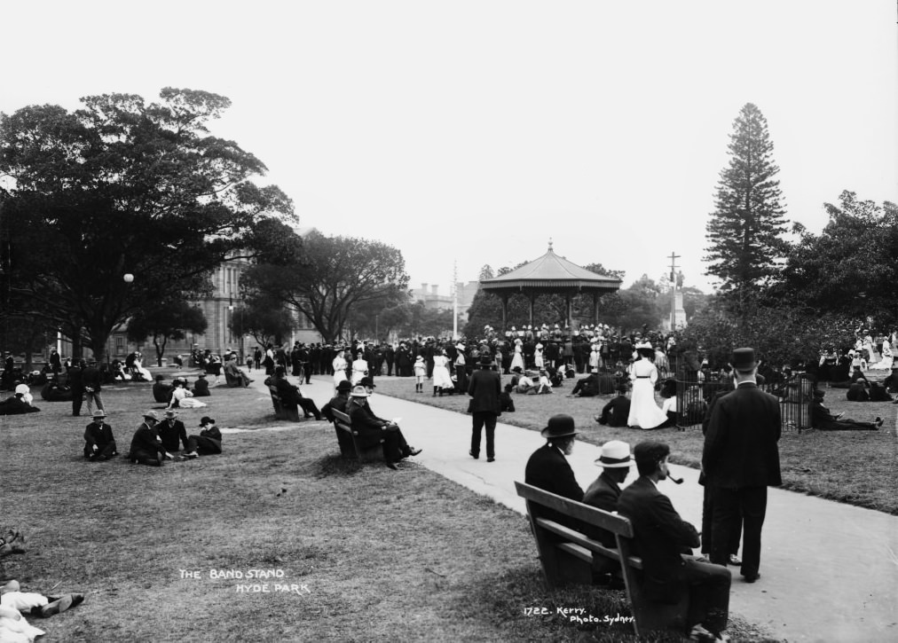 The Bandstand, Hyde Park