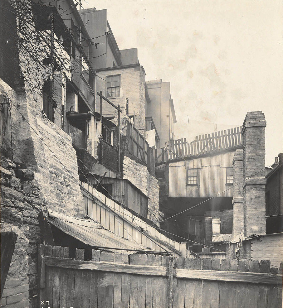 At rear of Gloucester-street