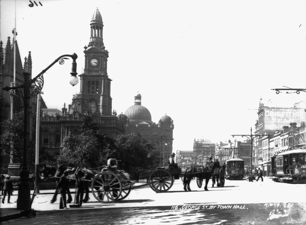 George Street, by Town Hall
