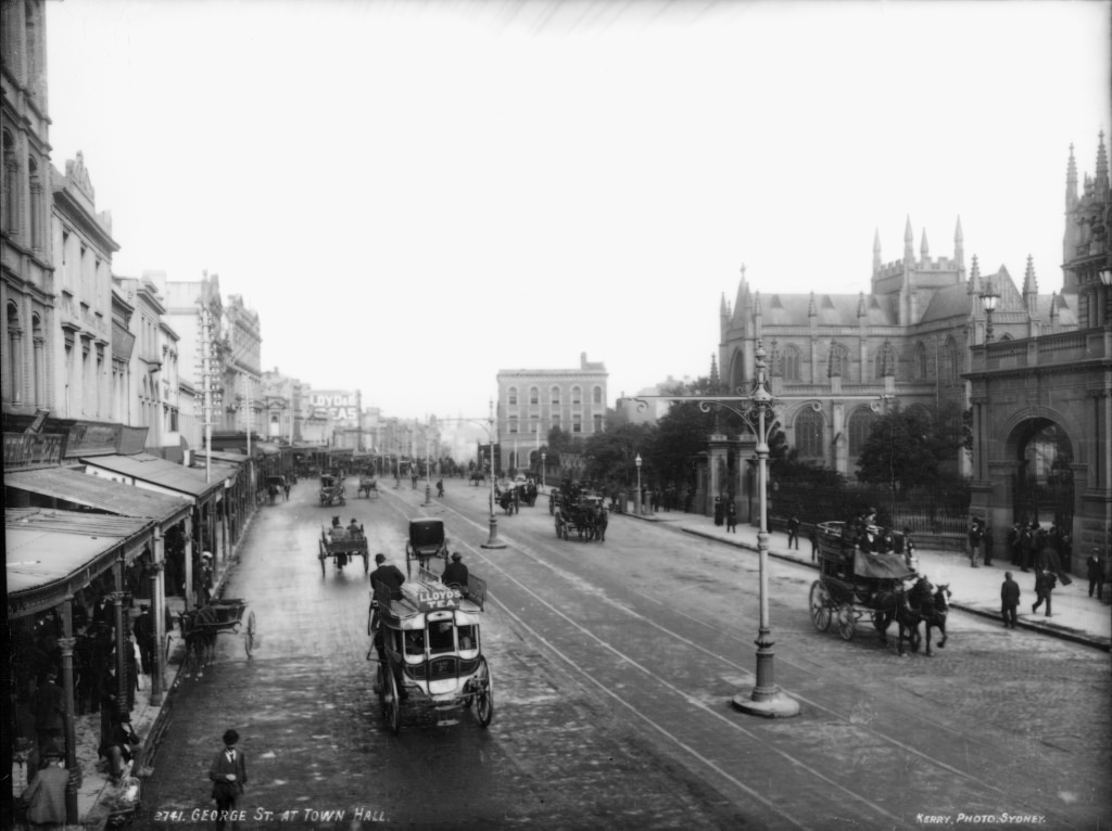 George Street at Town Hall