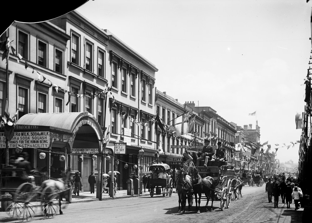 George Street, looking north from GPO