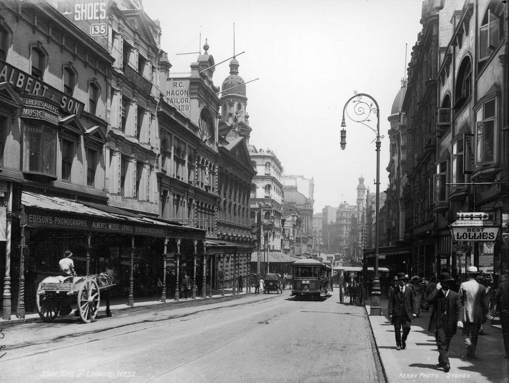 King Street looking west