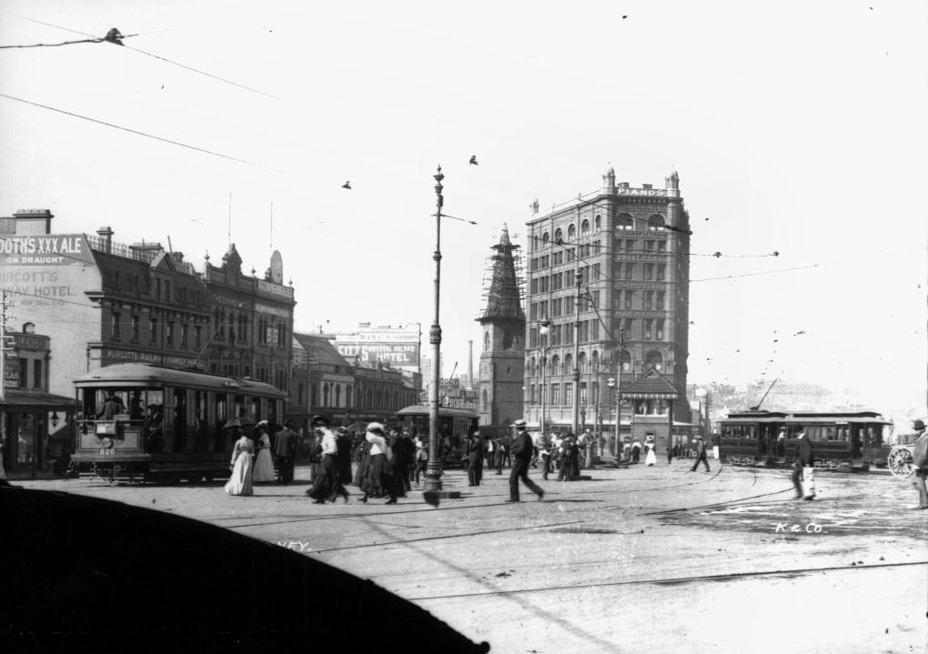 Railway Square, Kerry and Co, Sydney