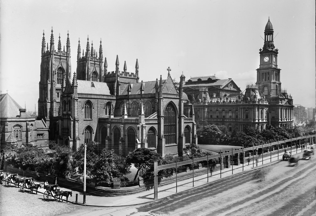 St Andrew's Cathedral and Town Hall