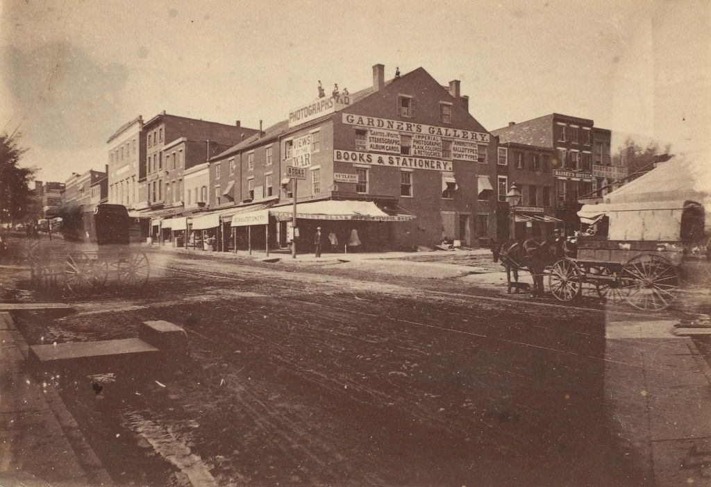Gardner's Gallery, 7th and D Streets, Washington, D.C., 1864.