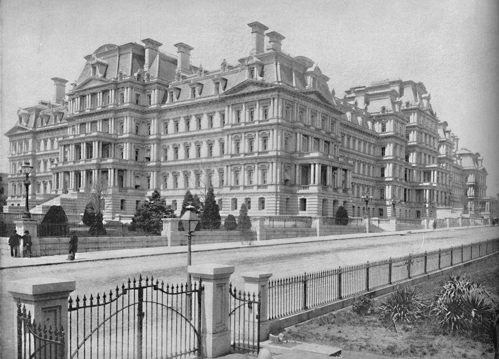 Army and Navy Building, Washington, D.C.', 1897.